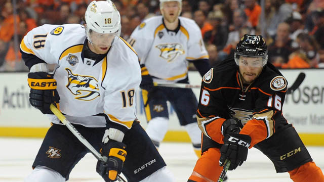 Nashville Predators left wing James Neal