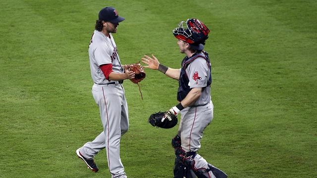 Boston Red Sox relief pitcher Heath Hembree