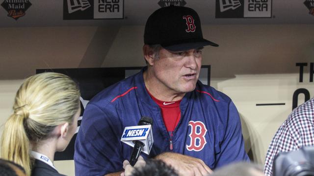 Boston Red Sox manager John Farrell