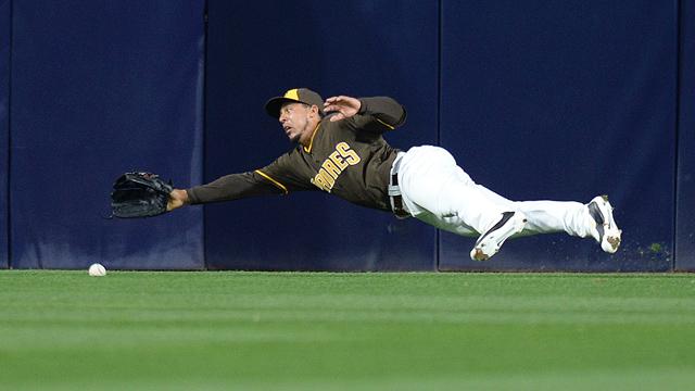 Padres outfielder Jon Jay
