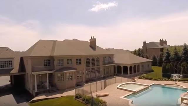 Jonas Jerebko mansion