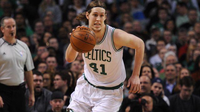 Celtics forward Kelly Olynyk