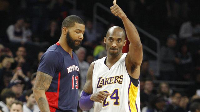 Lakers guard Kobe Bryant