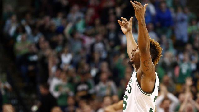 Celtics guard Marcus Smart