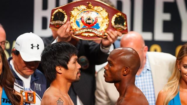Manny Pacquiao vs Timothy Bradley Jr.