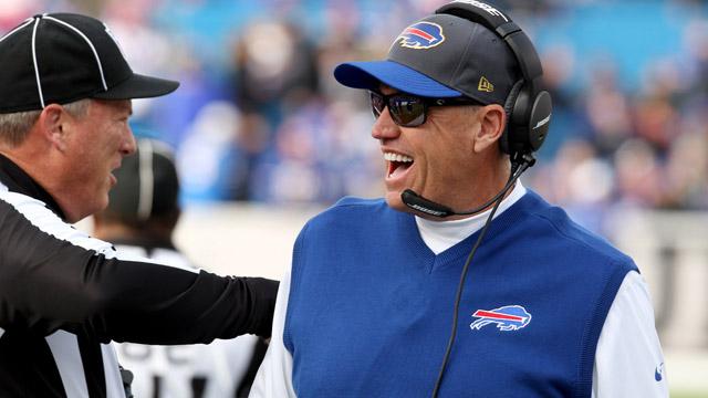 Bills head coach Rex Ryan