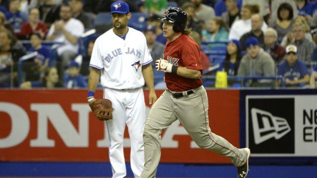 Red Sox catcher Ryan Hanigan