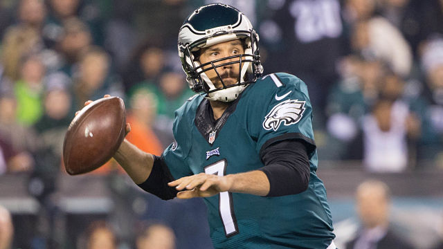 Philadelphia Eagles quarterback Sam Bradford