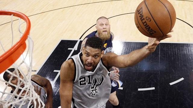 Tim Duncan - Spurs vs Grizzlies