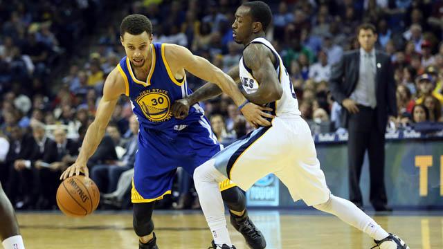 Warriors guard Stephen Curry