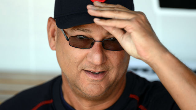 Cleveland Indians manager Terry Francona