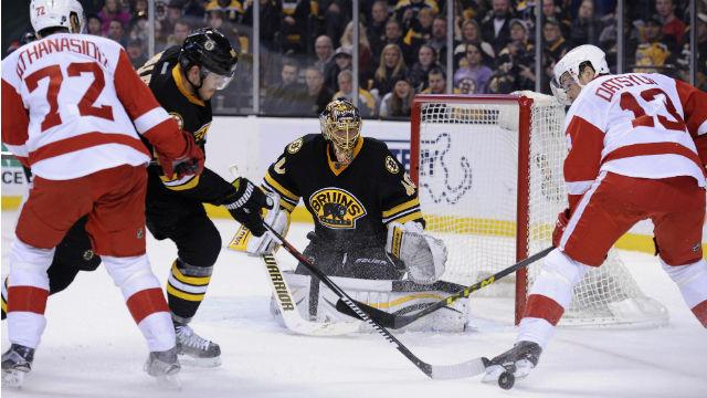 Boston Bruins defenseman Kevan Miller