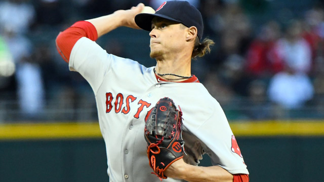 Red Sox pitcher Clay Buchholz
