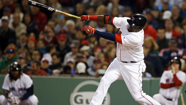 Red Sox DH David Ortiz