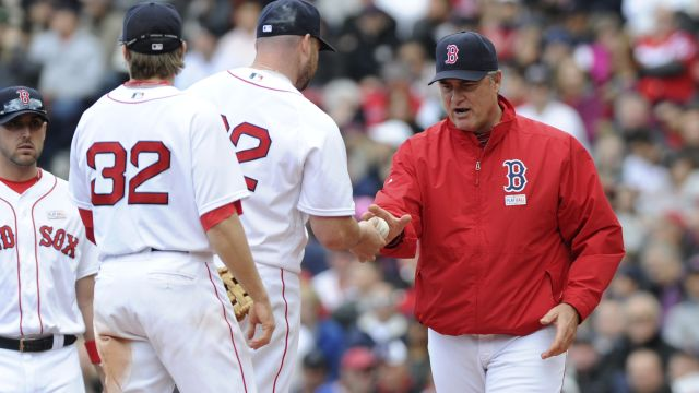 Red Sox pitcher Sean O'Sullivan