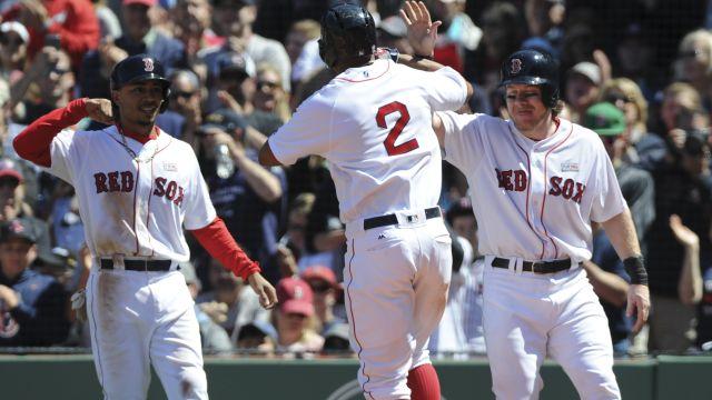 Red Sox shortstop Xander Bogaerts