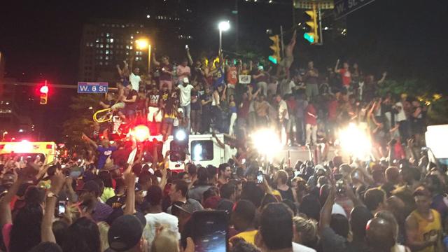 Cleveland Cavaliers fans