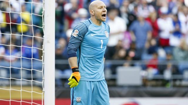 USA Soccer's Brad Guzan