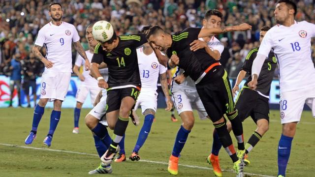Mexico vs Chile Copa America 2016 warm-up game