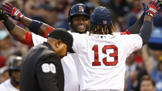 David Ortiz and Hanley Ramirez