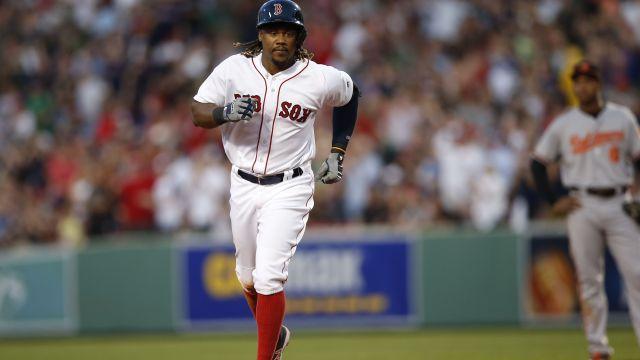 Red Sox first baseman Hanley Ramirez