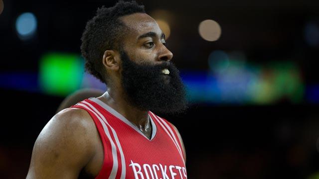 Rockets guard James Harden