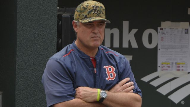 Red Sox manager John Farrell