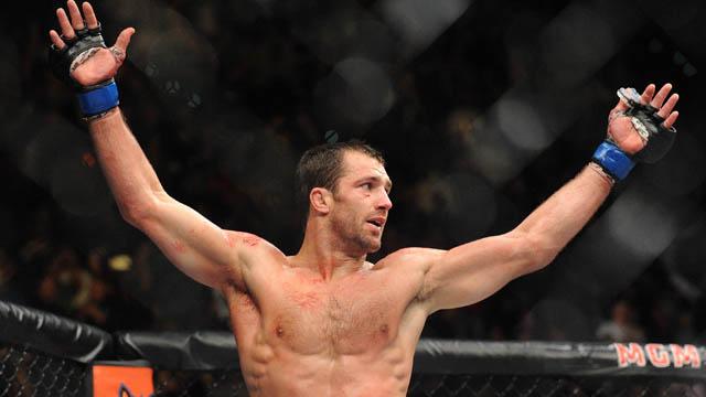 UFC fighter Luke Rockhold