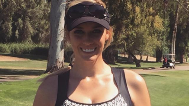 Professional golfer Paige Spiranac