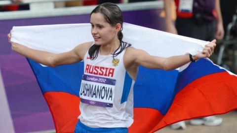 Russia race-walker Elena Lashmanova