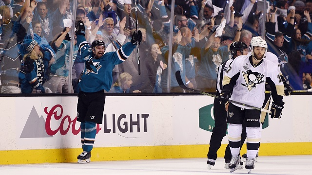 Joonas Donskoi, Sharks vs. Penguins in 2016 Stanley Cup Final