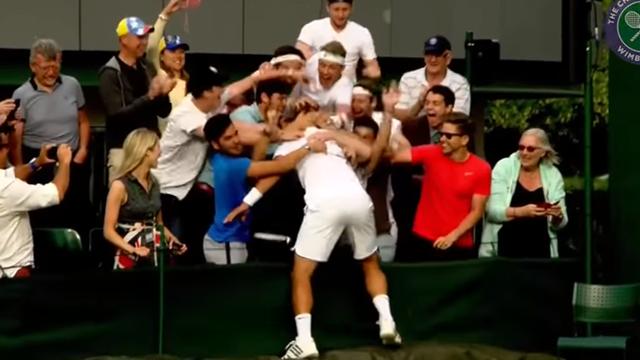Tennis player Marcus Willis