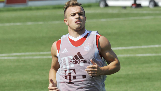 Bayern Munich player Xherdan Shaqiri