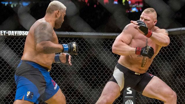 UFC fighter Brock Lesnar