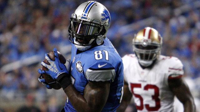Detroit Lions receiver Calvin Johnson