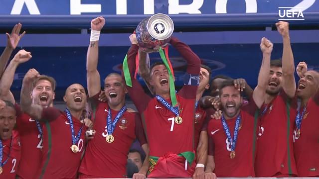 Portugal soccer wins Euro 2016