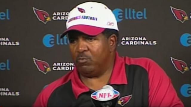 Arizona Cardinals coach Dennis Green