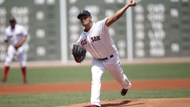 Red Sox pitcher Eduardo Rodriguez
