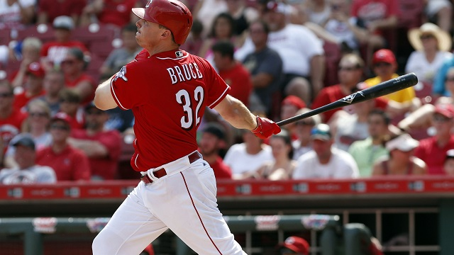 Reds outfielder Jay Bruce