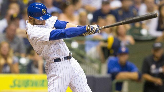 Milwaukee Brewers catcher Jonathan Lucroy