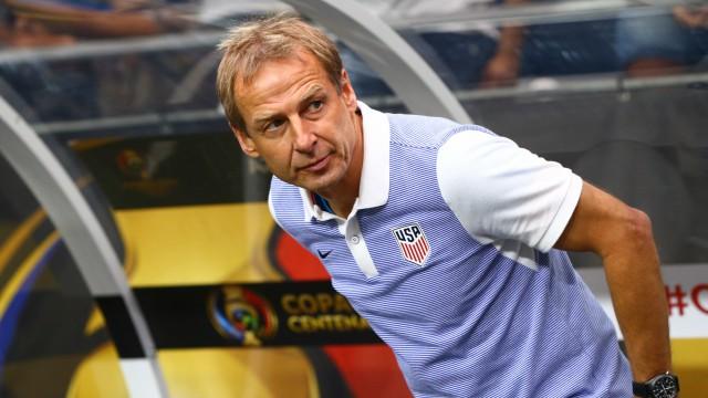 USA Soccer coach Jurgen Klinsmann