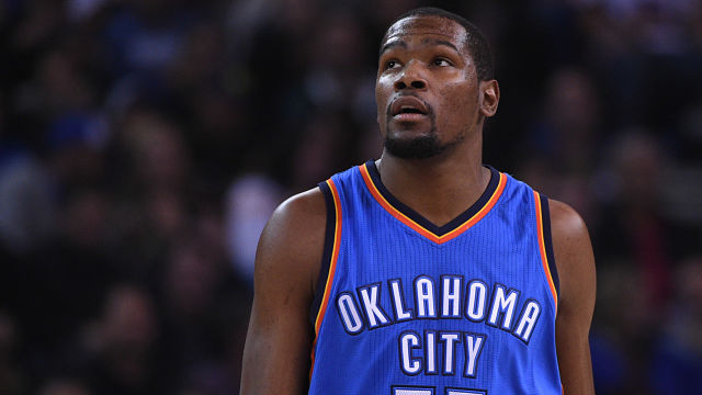 Golden State Warriors forward Kevin Durant