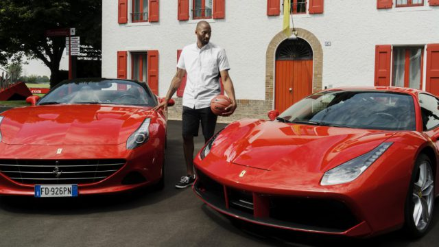 Kobe at Ferrari factory 2