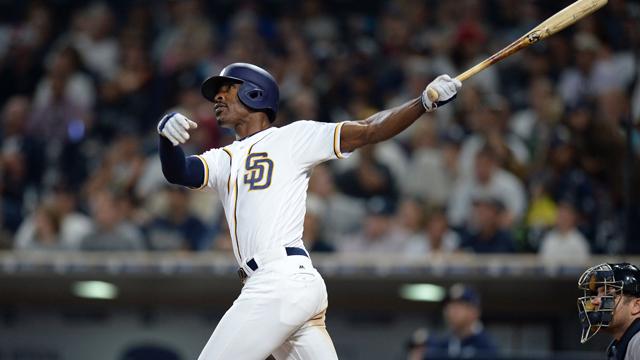 San Diego Padres left fielder Melvin Upton Jr.