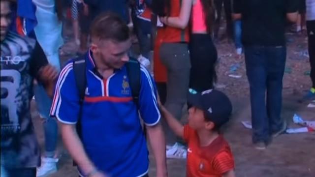 Portugal, France fans