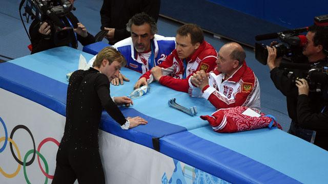 Russian figure skater Evgeny Plyushchenko