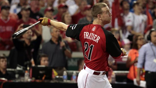 Cincinnati Reds slugger Todd Frazier