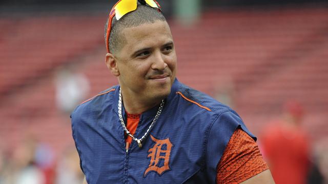 Detroit Tigers designated hitter Victor Martinez