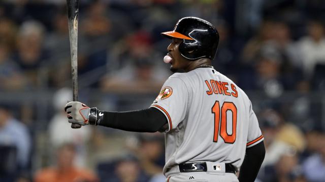 Baltimore Orioles outfielder Adam Jones