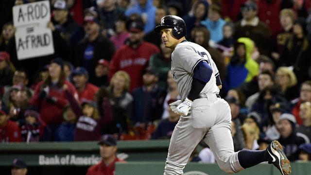 Yankees designated hitter Alex Rodriguez